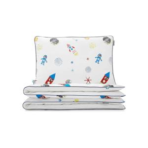 Detské bavlnené posteľné obliečky Mumla Space, 90×120 cm
