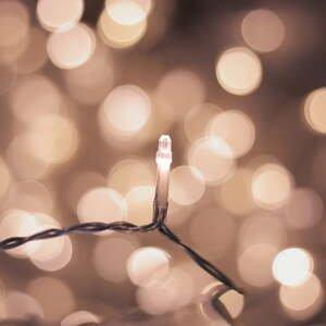LED svetelná reťaz DecoKing Drop, 300 svetielok, dĺžka 12,38 m