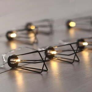 Svetelná LED reťaz DecoKing Deer, 10 svetielok, dĺžka 1,65 m