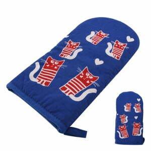 Modrá teflónová rukavica s magnetom Orion Cats