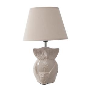 Béžová stolová lampa Mauro Ferretti Gufo