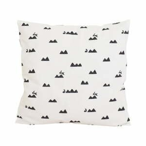 Obliečka na vankúš So Homelyy Mountain and Rabbits, 40×40 cm