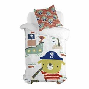 Detské bavlnené obliečky Moshi Moshi Pirate, 140 x 200 cm