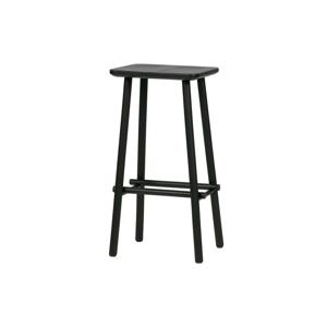 Čierna barová stolička vtwonen Butt