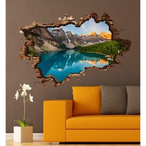Nástenná samolepka 3D Art Els, 70 × 45 cm