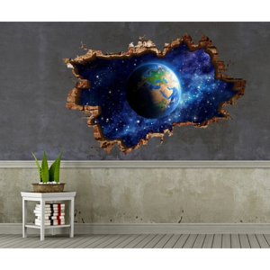 Nástenná samolepka 3D Art Michiel, 70 × 45 cm
