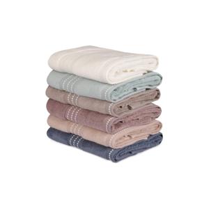 Sada 6 bavlnených uterákov Micro Cotton, 50×90cm