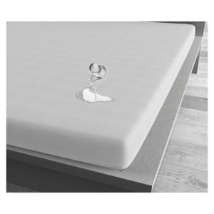 Biela vodoodolná plachta Sleeptime, 90×200 cm