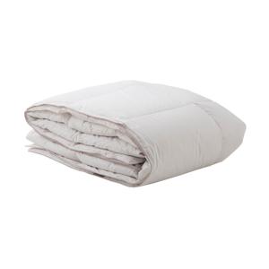 Biela deka z bavlny s výplňou husieho peria Bella Maison, 235×215 cm