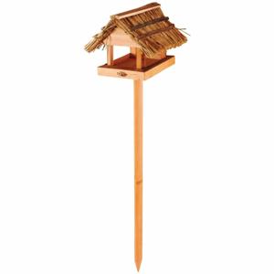 Zapichovacie kŕmidlo pre vtáčiky z jedľového dreva a tŕstia Esschert Design Sweetie