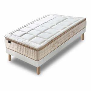Jednolôžková posteľ s matracom Bobochic Paris Cashmere, 90×200 cm