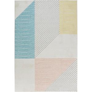 Tyrkysovo-ružový koberec Mint Rugs Madison, 200 x 290 cm
