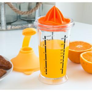 Multifunkčná nádoba na oddeľovanie žĺtkov s odšťavovačom na citrusy InnovaGoods, 300 ml