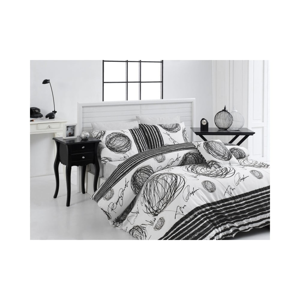 Obliečky z ranforce bavlny na jednolôžko Nazenin Home Kipling, 140×200 cm