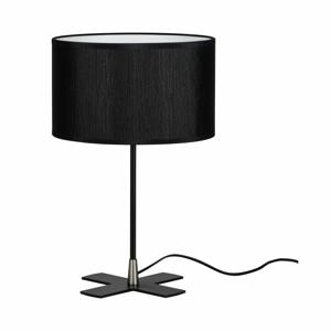 Čierna stolová lampa Bulb Attack Doce