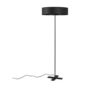 Čierna voľne stojacia lampa Bulb Attack Once