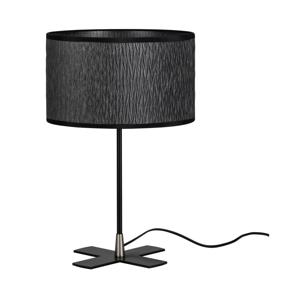 Čierna stolová lampa Bulb Attack Once