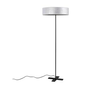 Biela voľne stojacia lampa Bulb Attack Quince