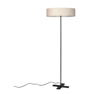 Krémová voľne stojacia lampa Bulb Attack Trece