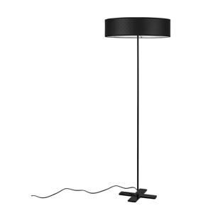 Čierna voľne stojacia lampa Bulb Attack Trece