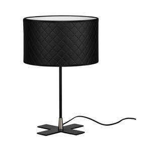 Čierna stolová lampa Bulb Attack Trece