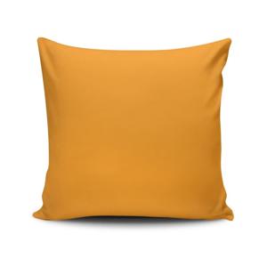 Oranžová obliečka na vankúš Riva, 45 x 45 cm