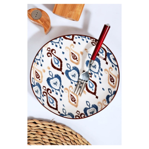 Sada 6 keramických tanierov Kutahya Noah