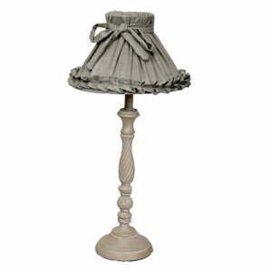 Stolová lampa Antic Line Romance Grey, 78cm