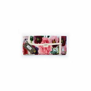 Piknik deka Surdic Manta Picnic Flowers s motívom kvetín, 140x170 cm