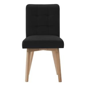 Čierna jedálenská stolička Rodier Haring