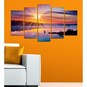 Viacdielny obraz 3D Art Mardo Sunset, 102×60 cm