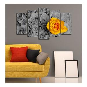 Viacdielny obraz 3D Art Gris Flower, 102×60 cm