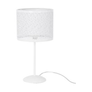 Biela stolová lampa SULION Circles
