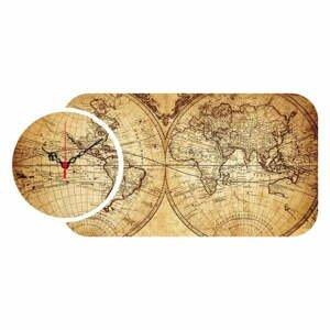 2-dielne nástenné hodiny Colombo