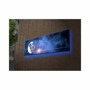 Podsvietený obraz Boreas, 90×30 cm