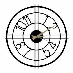 Kovové hodiny Hefaistos, ø 50 cm