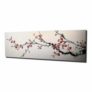 Obraz na plátne Sakura, 80×30 cm