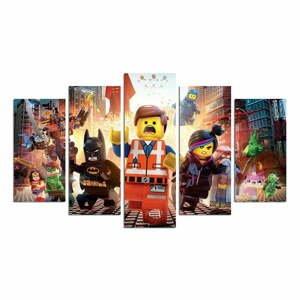 5-dielny obraz Lego