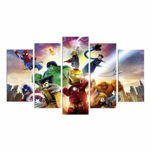 5-dielny obraz Marvel