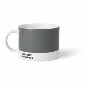 Sivý hrnček na čaj Pantone, 475 ml
