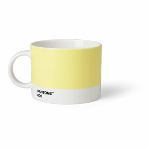 Svetložltý hrnček na čaj Pantone, 475 ml