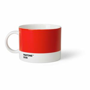 Červený hrnček na čaj Pantone, 475 ml