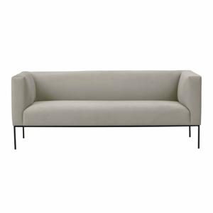 Béžová zamatová dvojmiestna pohovka Windsor & Co Sofas Neptune