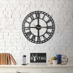 Nástenné kovové hodiny Greece, 70×70 cm