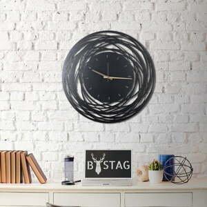 Nástenné kovové hodiny Ball, 70×70 cm