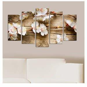 Viacdielny obraz Flower In The Blossom, 110×60 cm