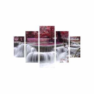 Viacdielny obraz Waterfall, 92×56 cm