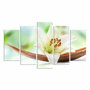 Viacdielny nástenný obraz Green Lily