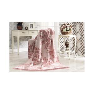 Bavlnená deka Aksu Lonicera, 152 × 127 cm