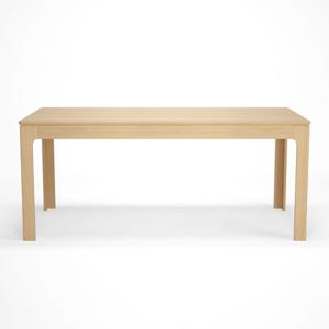 Rozkladací jedálenský stôl s dekorom z bukového dreva Artemob Johny